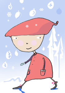 Tomten måste ha snö!