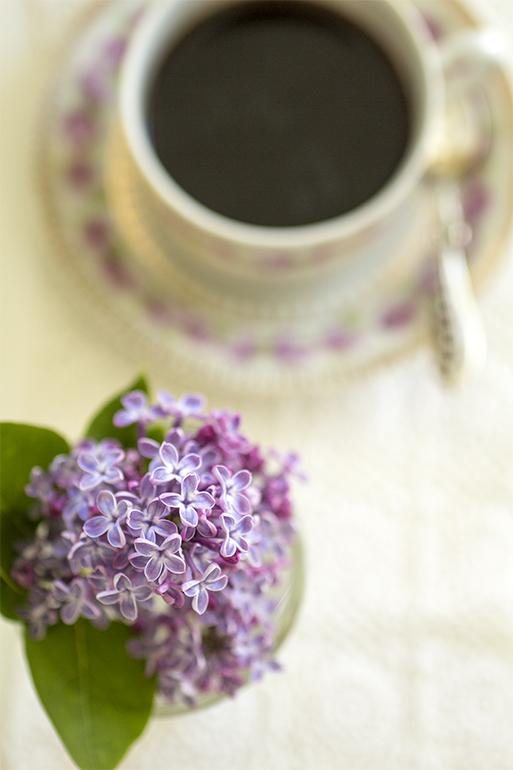 Jag bjuder på kaffe i årets vackraste tid