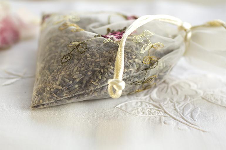 Fyll en liten påse med Lavendel du också!