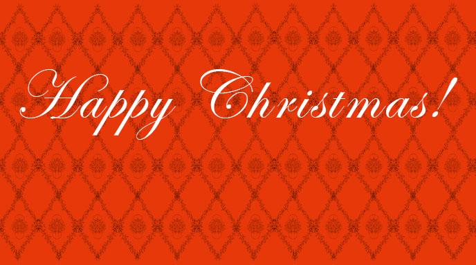 Göra ett mönster: Happy Christmas!
