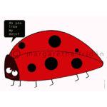 Vykort 4. Do you like my dots?- margaretafriden.se